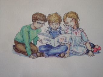 More adventures from Little Harry and family soon. Illustration by James Robinson
